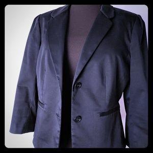 Ann Taylor LOFT 3/4 Sleeve Black Blazer